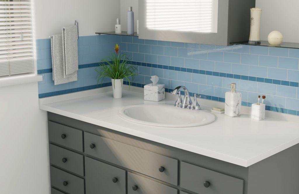 Bathroom restoration - after
