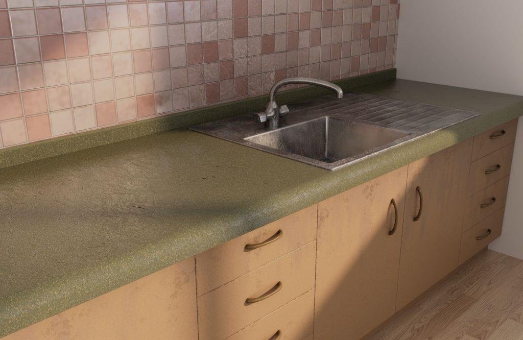 Kitchen restoration-before