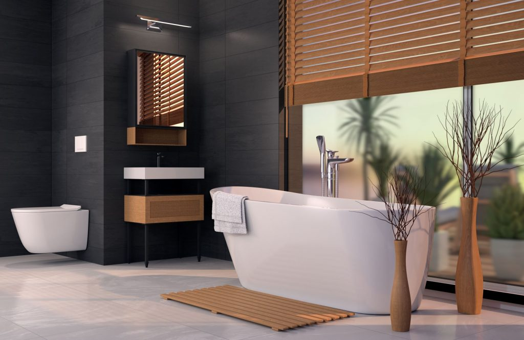 bathroom - 3D visualization
