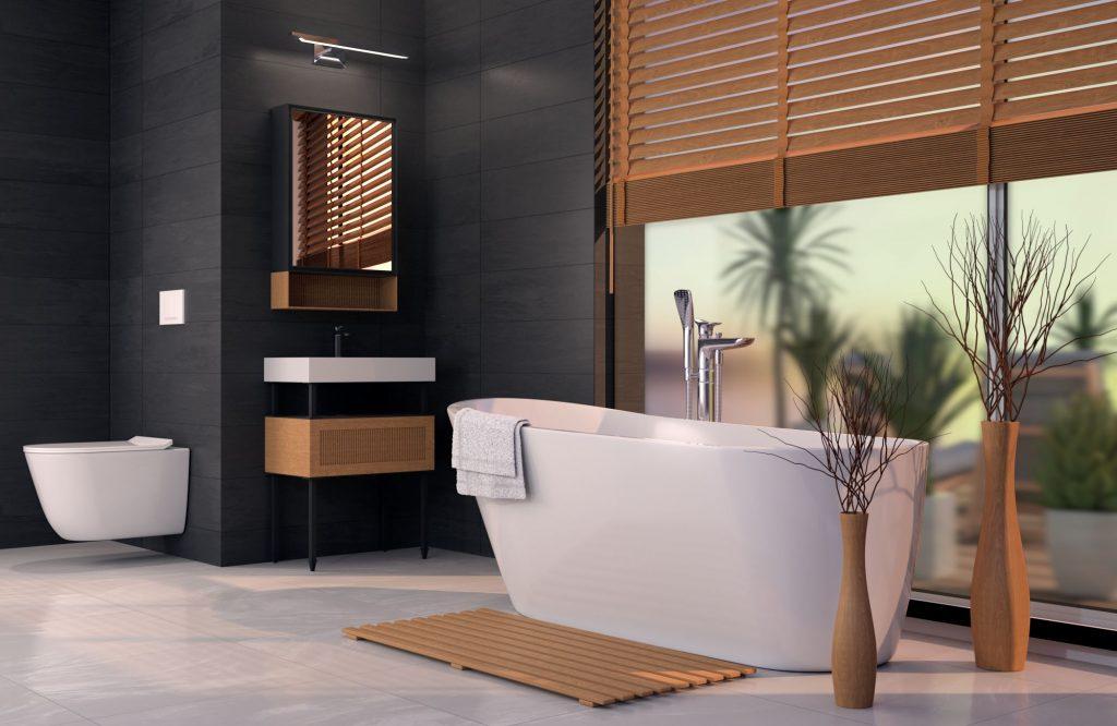 bathroom - 3D visualization